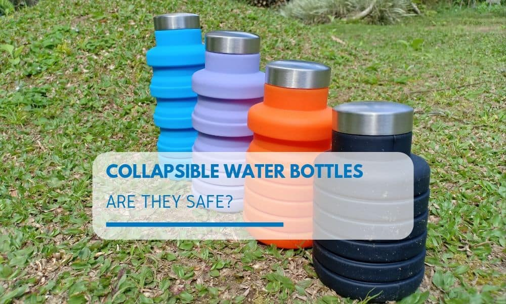 different color Collapsible Water Bottles